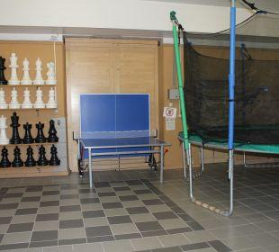 XXL-Freizeithalle ... für alle Jungen und Junggebl Ferienwohnungen & Pension Domicil am Stadtpark