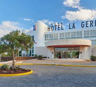 Eingang Hotel Hipotels La Geria