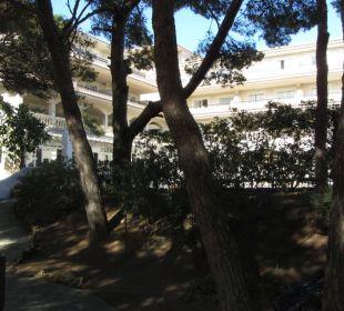 Gartenanlage Aparthotel Diamant