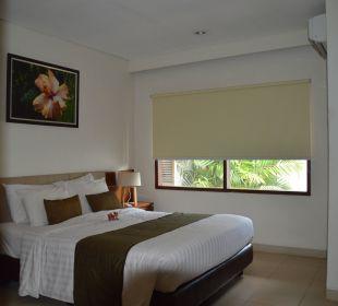 Doppelbett Hotel Bali Agung Village