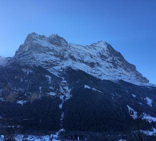 Blick vom Zimmer Sunstar Alpine Hotel Grindelwald