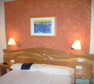 Kleines Appartement - Schlafraum Hotel Rocamar Beach