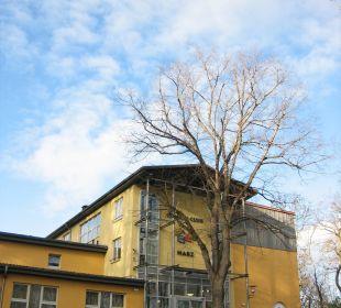 Parkplatz am Hotel Familotel Family Club Harz