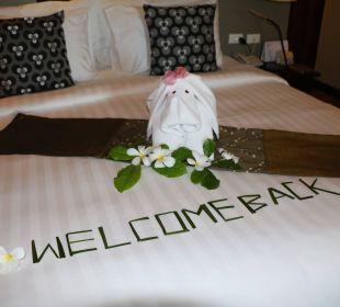 Willkommensgruß Hotel Chong Fah Beach Resort