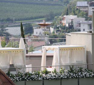 Blick auf Sky-Spa DolceVita Hotel Preidlhof