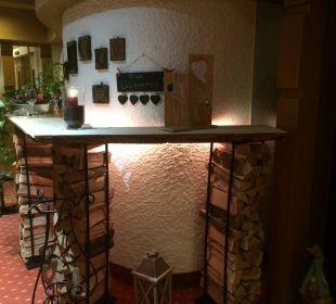 Holz für den Kachelofen WellVital Hotel Tyrol