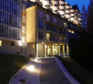 Ausschnitt vom Bellevue (Südseite) MONDI-HOLIDAY First-Class Aparthotel Bellevue