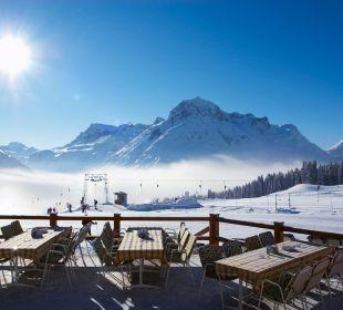 Winter Sonnenterrasse Hotel Mohnenfluh