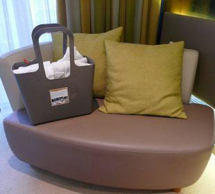 Sofa plus Wellnesskorb Seehotel Adler