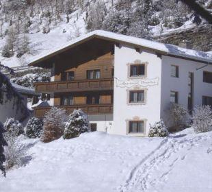 Winteransicht Apartment Brandau