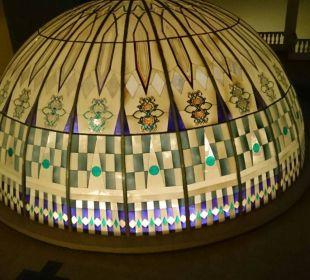 Kuppel von der Lobby Festival Le Jardin Resort (geschlossen)