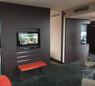 Von der Couch aus Hotel Novotel Barcelona City