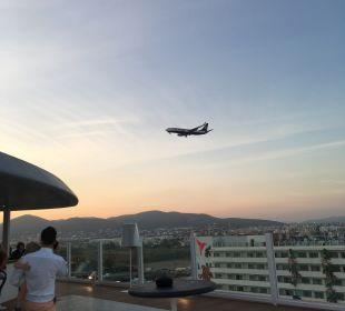 Ausblick Hard Rock Hotel Ibiza