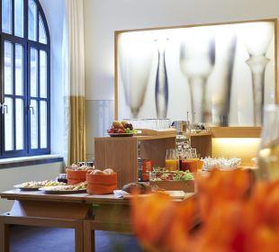 Frühstücksbuffet im Hotel Victoria Hotel Victoria Nürnberg