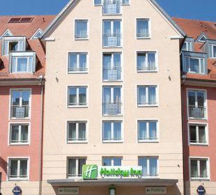 Außenansicht Hotel Holiday Inn Nürnberg City Centre