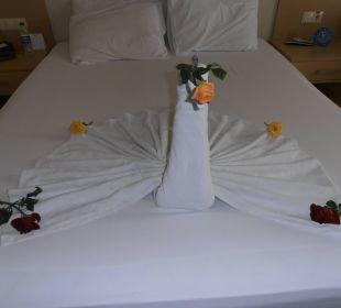Gemacht von der Zimmerreinigung. Toll Hotel Titan Select