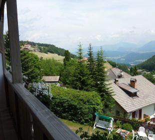 Blick vom Balkon Hotel Dolomitenblick