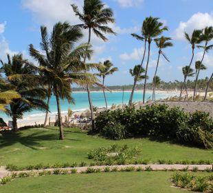 Blick vom Balkon nach rechts VIK Hotel Cayena Beach Club