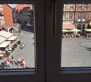 Blick zum Markt Hotel Travel Charme Gothisches Haus