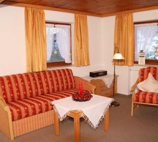 Wohn/Schlafraum unserer 2-Raum-Ferienwohnung Nr. 1 Ferienwohnung Heim