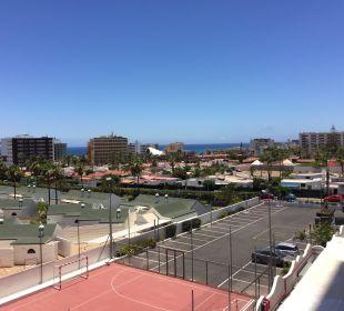 Balkonblick Stadt/Strand SENTIDO Gran Canaria Princess
