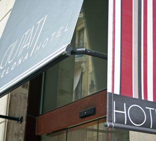 Hoteleingang Hotel Ciutat de Barcelona