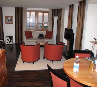 Komfortable Juniorsuite mit herrlicher Aussicht Hotel Pilatus-Kulm