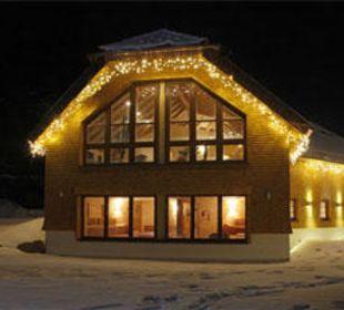 Saunahaus im Winter 2012 Waldblick Hotel Kniebis
