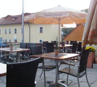 Die Terrasse Hotel Gasthof Fenzl