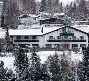 Landhaus im Schnee Landhaus Müllenborn