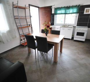 Wohnküche 3-Zi-Wg LUNGOMARE Holiday Residence Rifugio