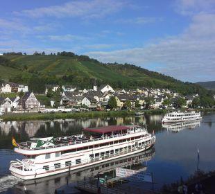 Toller Blick vom Balkon Hotel Weinhaus Mayer