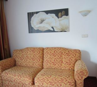 Wohnzimmer in Turmsuite Silence & Schlosshotel Mirabell