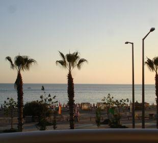 Blick vom Zimmer 102 Hotel Kleopatra Celine
