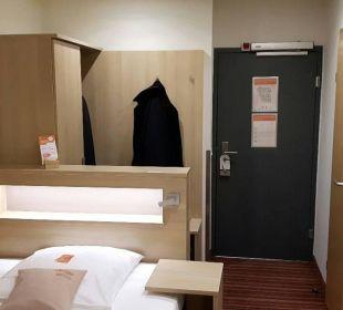 Breites Bett Hotel Victoria Nürnberg