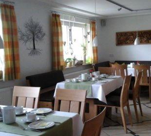 Frühstücksraum Haus Drei Tannen