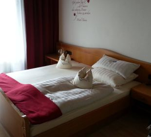 Bequemes Bett Pension Haus Hochstein