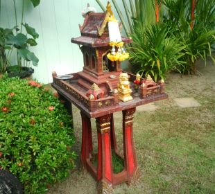 Geisterhäuschen Phuket Lotus Lodge