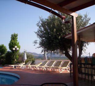 Geruhsam, wünderschön, frühstücken am pool  Hotel Karavos