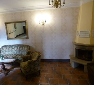 Eingangsbereich Schlosshotel Stecklenberg