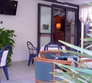 Der neue Wintergarten mit Klima, TV, Heizung Hotel Fortunella