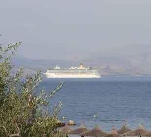 Ausblick vom Zimmer Kontokali Bay Resort & Spa