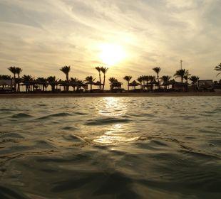 Sonnenuntergang Hotel Steigenberger Coraya Beach