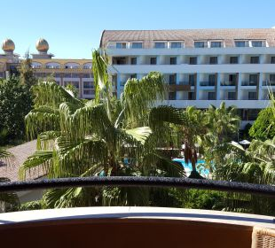 Ausblick Zimmer Balkon  Hotel Royal Dragon