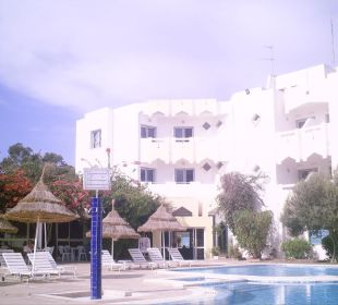 Hinterfront des Hotels Hotel Club Acquaviva