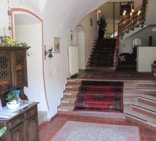 Der Eingangsbereich Hotel Kirchenwirt