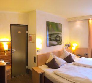 Doppelzimmer Typ standard City Hotel Ost am Kö Augsburg