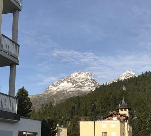 Ausblick Hotel Laudinella