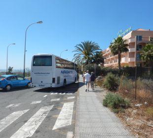 Autokar na plażę dla gości hotelowych Hotel Mirador Maspalomas Dunas