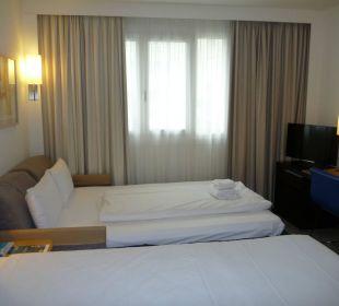 Sehr eng, nichts für viel Gepäck Hotel Novotel München City